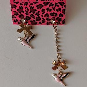 Betsey Asymmetrical Drop Earrings NWT